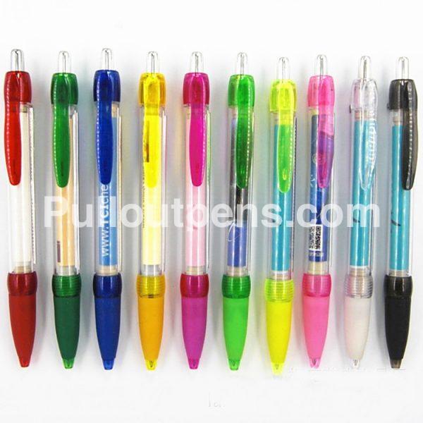 banner pens rubber grip