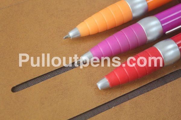 banner pens silver tip
