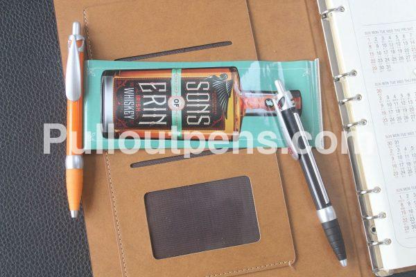 banner pens sliver drip clip
