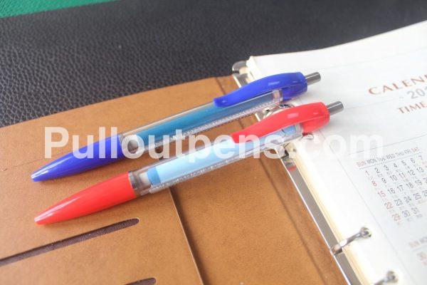 custom banner pens solid clip grip