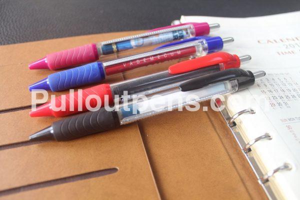 custom scroll pens wave grip