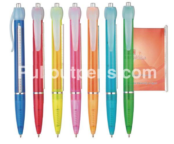 customized banner pens pop 6