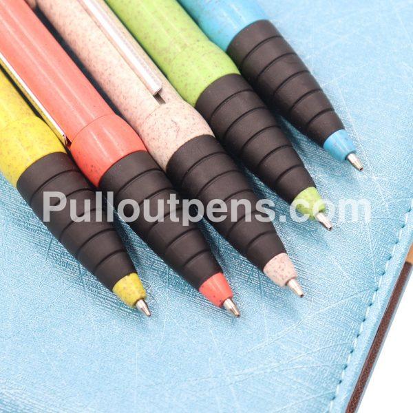 enviroment staw scroll pens