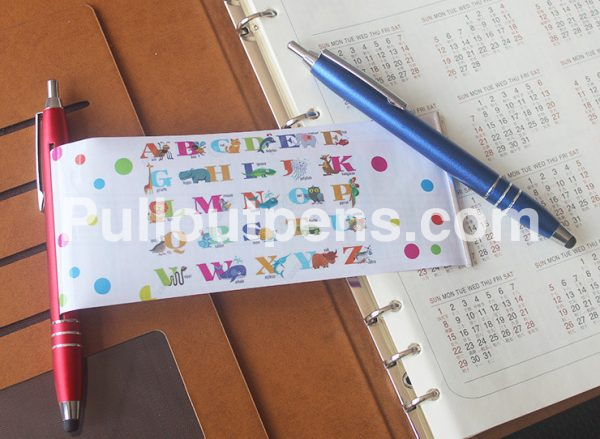 metal pull out pens stylus