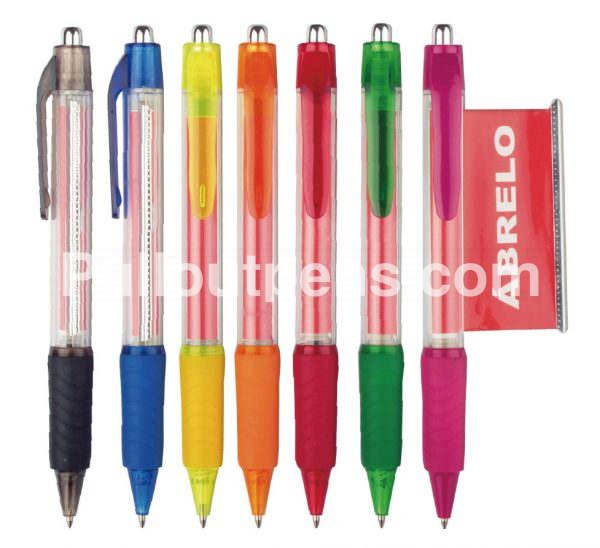 personalized banner pens wave grip